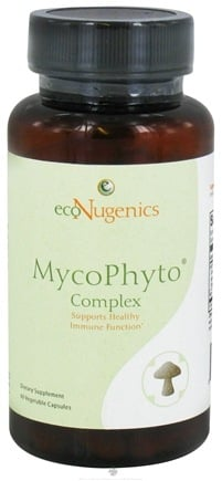 DROPPED: EcoNugenics - MycoPhyto Complex - 60 Vegetarian Capsules CLEARANCE PRICED