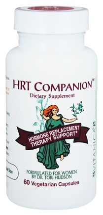 DROPPED: Vitanica - HRT Companion Hormone Replacement Therapy Support - 60 Vegetarian Capsules