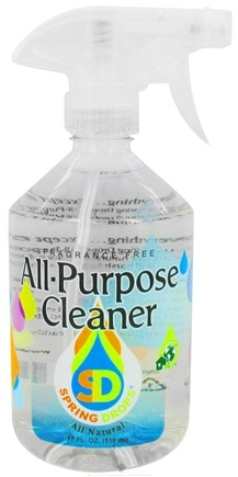 DROPPED: Spring Drops - All-Purpose Cleaner Liquid - 17 oz. CLEARANCE PRICED