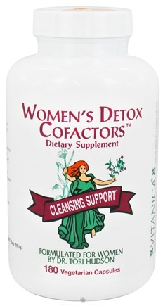 DROPPED: Vitanica - Women's Detox Cofactors - 180 Vegetarian Capsules CLEARANCE PRICED
