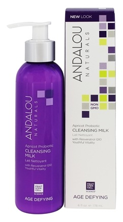 Andalou Naturals - Age-Dyfing Apricot Probiotic Cleansing Milk - 6 oz.