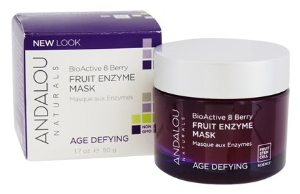 Andalou Naturals - Age-Defying BioActive 8 Berry Enzyme Mask - 1.7 oz.