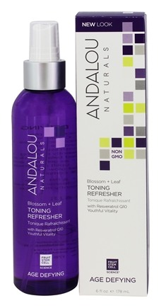 Andalou Naturals - Age Defying Blossom + Leaf Toning Refresher - 6 oz.
