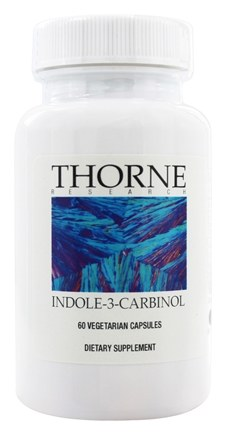DROPPED: Thorne Research - Indole-3-Carbinol 200 mg. - 60 Vegetarian Capsules