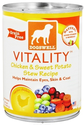 DROPPED: Dogswell - Vitality Chicken & Sweet Potato Stew Recipe - 13 oz. CLEARANCE PRICED