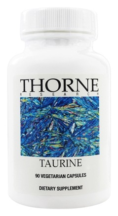 DROPPED: Thorne Research - Taurine 500 mg. - 90 Vegetarian Capsules