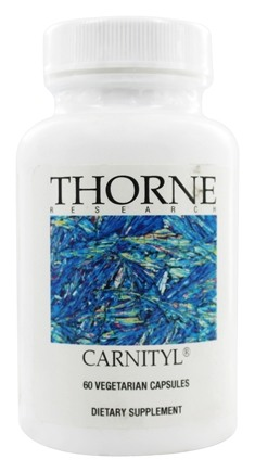 DROPPED: Thorne Research - Carnityl 500 mg. - 60 Vegetarian Capsules