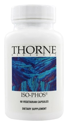 DROPPED: Thorne Research - Iso-Phos 100 mg. - 60 Vegetarian Capsules