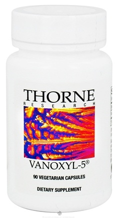 DROPPED: Thorne Research - Vanoxyl-5 mg. - 90 Vegetarian Capsules CLEARANCE PRICED