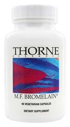 DROPPED: Thorne Research - M.F. Bromelain 1000 mg. - 60 Vegetarian Capsules