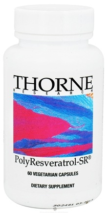 DROPPED: Thorne Research - PolyResveratrol-SR - 60 Vegetarian Capsules