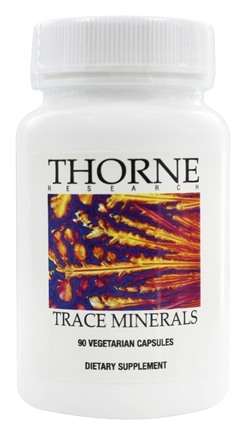 DROPPED: Thorne Research - Trace Minerals - 90 Vegetarian Capsules