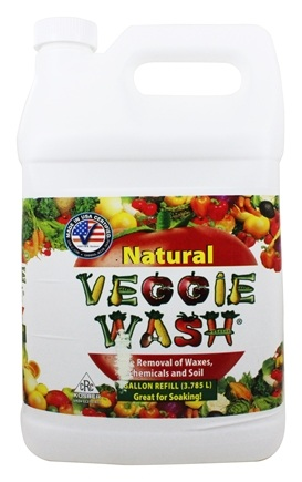Veggie Wash - Natural Fruit and Vegetable Wash Refill - 1 Gallon