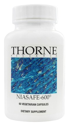 DROPPED: Thorne Research - Niasafe-600 540 mg. - 60 Vegetarian Capsules
