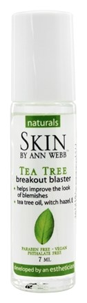 Skin by Ann Webb - Naturals Tea Tree Breakout Blaster - 7 ml. Formerly Skin Organics