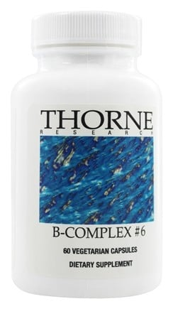 DROPPED: Thorne Research - B-Complex #6 - 60 Vegetarian Capsules