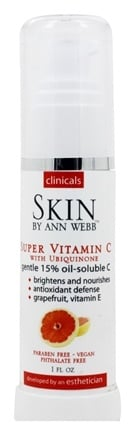 Skin by Ann Webb - Clinicals Super C-Ester with Idebenone - 1 oz. Formerly Skin Organics