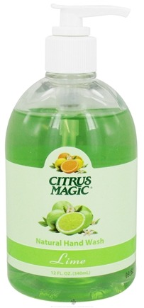 DROPPED: Citrus Magic - Natural Hand Wash Liquid Soap Lime - 12 oz. CLEARANCE PRICED
