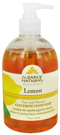 DROPPED: Clearly Natural - Natural Hand Wash Liquid Soap Lemon - 12 oz. Formerly Citrus Magic CLEARANCE PRICED