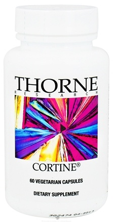 DROPPED: Thorne Research - Cortine - 60 Vegetarian Capsules CLEARANCE PRICED