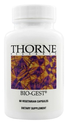 DROPPED: Thorne Research - Bio-Gest - 60 Vegetarian Capsules