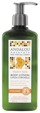 DROPPED: Andalou Naturals - Body Lotion Vitalizing Mandarin Vanilla - 11 oz.