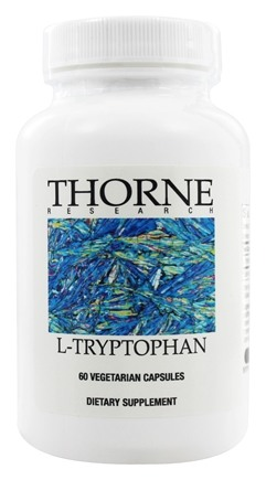 DROPPED: Thorne Research - L-Tryptophan 1000 mg. - 60 Vegetarian Capsules