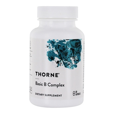 DROPPED: Thorne Research - Basic B Complex - 60 Vegetarian Capsules