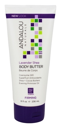 Andalou Naturals - Firming Body Butter Lavender Shea - 8 oz.