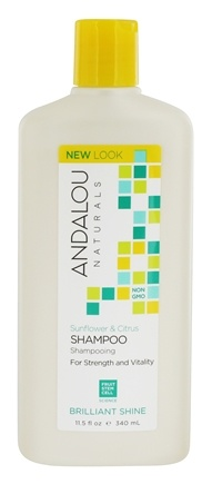 Andalou Naturals - Sunflower & Citrus Brilliant Shine Shampoo - 11.5 oz.