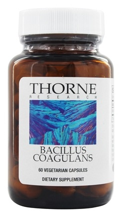 DROPPED: Thorne Research - Bacillus Coagulans 133 mg. - 60 Vegetarian Capsules (formerly Lactobacillus Sporogenes)