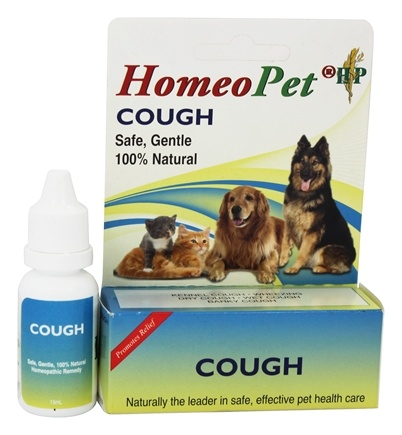 DROPPED: HomeoPet - Cough Relief Liquid Drops For Pets - 15 ml.