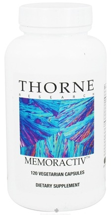 DROPPED: Thorne Research - Memoractiv - 120 Vegetarian Capsules