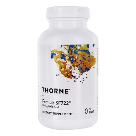 DROPPED: Thorne Research - Formula SF722 250 mg. - 250 Gelcaps