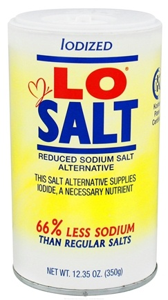Zoom View - Iodized Reduced Sodium Salt