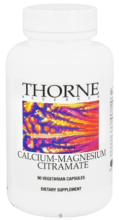 DROPPED: Thorne Research - Calcium-Magnesium Citramate - 90 Vegetarian Capsules CLEARANCE PRICED