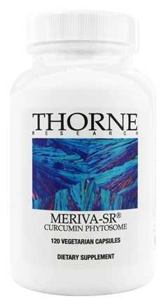 DROPPED: Thorne Research - Meriva-SR Curcumin Phytosome 500 mg. - 120 Vegetarian Capsules