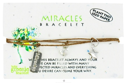 DROPPED: Zorbitz - Miracles Lucky Greenie Bracelet - CLEARANCE PRICED
