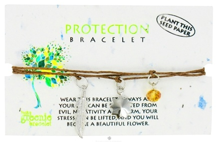 Zoom View - Protection Lucky Greenie Bracelet