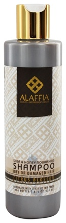 DROPPED: Alaffia - Shampoo Nourishing Shea & Honey - 8 oz.
