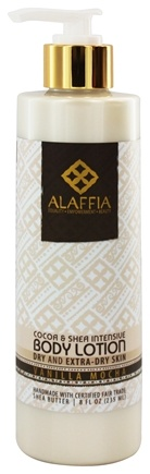 Alaffia - Body Lotion Intensive Coco Butter Vanilla Mocha - 8 oz.