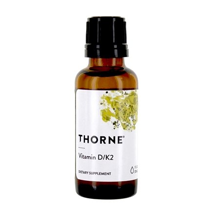 DROPPED: Thorne Research - Vitamin D/K2 Liquid - 1 oz.
