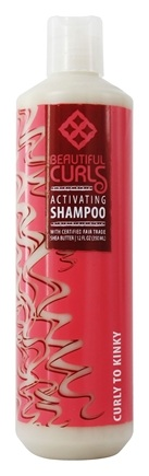 Alaffia - Beautiful Curls Shampoo Curl Activating Shea Butter For Curly to Kinky Hair - 12 oz.