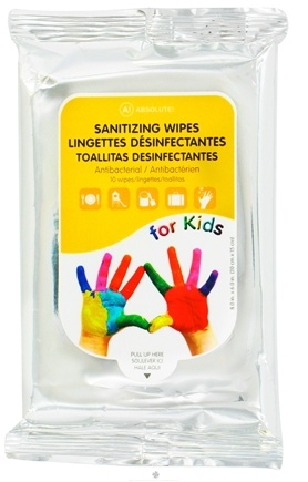 Zoom View - Absolute Sanitizing Wipes for Kids