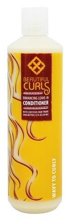 Alaffia - Beautiful Curls Enhancing Leave-In Conditioner for Wavy to Curly Hair - 12 oz.