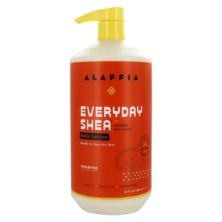 Alaffia - Everyday Shea Moisturizing Body Lotion Unscented - 32 oz.