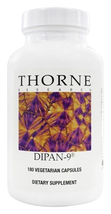 DROPPED: Thorne Research - Dipan-9 1000 mg. - 180 Vegetarian Capsules