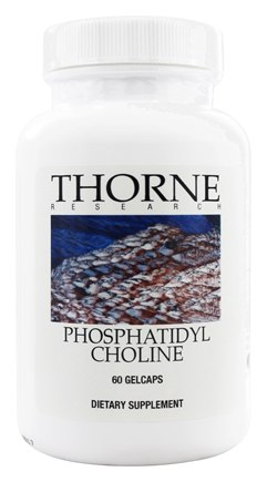 DROPPED: Thorne Research - Phosphatidyl Choline - 60 Gelcaps