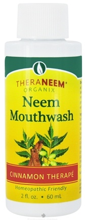 DROPPED: Organix South - TheraNeem Neem Mouthwash Cinnamon - 2 oz. CLEARANCE PRICED