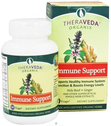 DROPPED: Organix South - TheraVeda Immune Support - 60 Vegetarian Capsules CLEARANCE PRICED